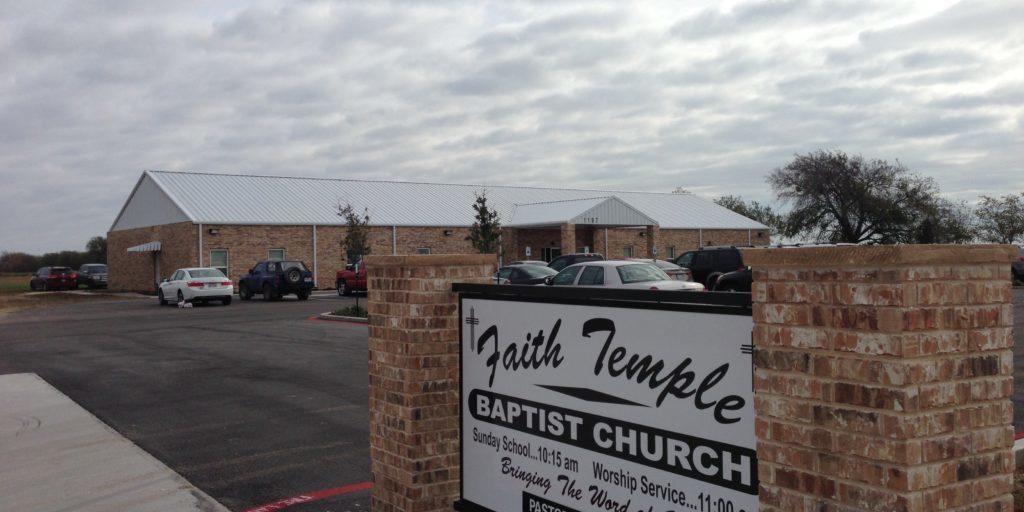 Faith Temple Baptist Church - Waco Regional Baptist Association